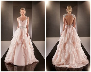 Vestido-De-Noiva-2015-Sexy-Backless-Wedding-Dresses-Peach-Colored-Wedding-Dresses-2015-Bridal-Gown-Casamento